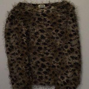 Leopard sweater from Molly Bracken 🐆